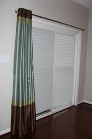Patio Door Blinds Home Depot by Plain Blinds For Sliding Doors Home Depot Woven Wood Panel Track