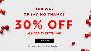 reitmans canada thanksgiving sale save 30 almost everything