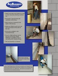 safeedge waterproofing system basement drainage safebasements