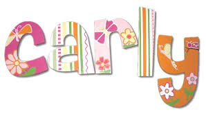 carly s carly s funky hanging wooden letters