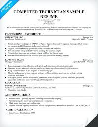 technician resume samples free click here to download this it