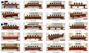 Detachable Conference Table 18 Person Conference Table Custom Big Office Room Meeting Table