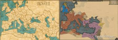 Map Rome Attila And Rome Ii Campaign Map Comparison Totalwar