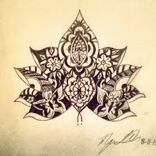 henna lotus flower tattoo henna lotus flower tattoo designs best