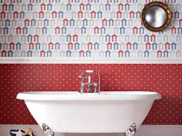 Wallpapers For Bathrooms The Anti Bacteria Contour Wallpaper For Bathrooms