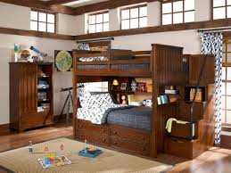 Bunk Bed Stairs Sold Separately Legacy Dawson U0027s Ridge Full Twin Bookcase Bunk Bed W Storage Steps
