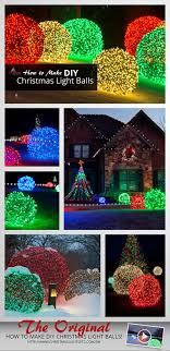custom length christmas light strings how to make christmas light balls outdoor christmas diy light and