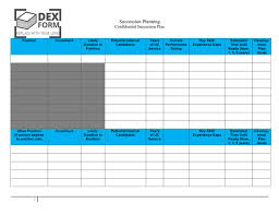 farm succession planning template