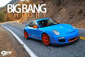 porsche blue gt3 9tro alliance shark werks gt3 rs 4 1 big bang theory january