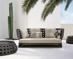 b u0026b italia canasta 3 seater sofa couture outdoor