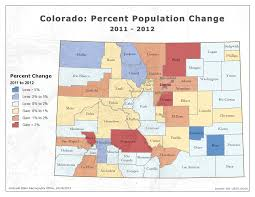 map of colorado by population state demography office