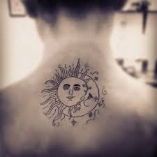 3d sun moon design idea