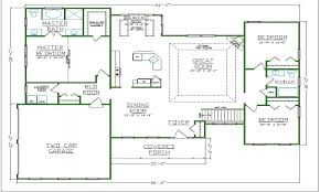 custom luxury floor plans house plans
