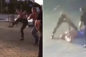 mma fighter arrested for allegedly killing weightlifter in street