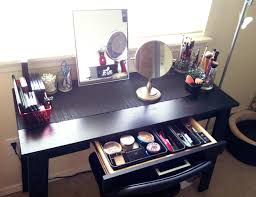 Diy Makeup Vanity Desk Bench Makeup Vanity Table With Lighted Mirror Ikea Dressing