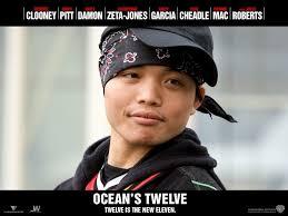 your favorite character out of ocean u0027s twelve ocean u0027s twelve