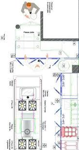 plan bureau de travail plan de cuisine professionnelle alsyo bureau dactudes conception