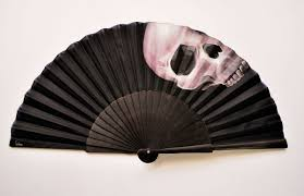 custom fans fan skull possibility to customize gigihandfans