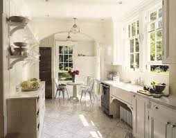 french kitchen decorating ideas with all white themed paints and