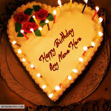 Make Birthday Cake By Name Image Inspiration Of Cake And