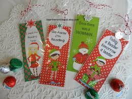 christmas bookmarks for kids and kids classmates u2013a fun gift from