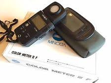 minolta photo light meter ebay
