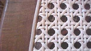 Caning A Chair How To Replace A Woven Cane Seat In A Chair Youtube