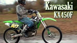 freestyle motocross bikes kawasaki kx450f motocross bike ethan u0027s awesome trade youtube