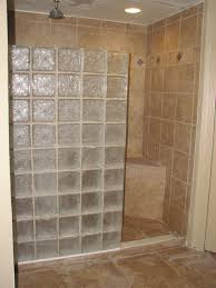 glass block bathroom ideas images about bathroom walk in shower on glass block and