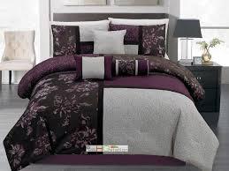 Purple Floral Comforter Set 15 Best Bedding Images On Pinterest