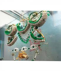 rajputi earrings green complete rajputi jewellery set for women