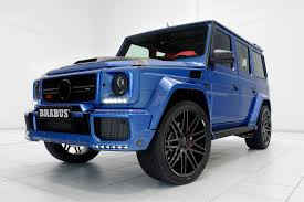 brabus mercedes g63 amg gets the brabus treatment u2013 blue and red are on