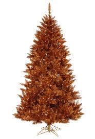 Amber Christmas Lights 4 5 U0027 Copper Spruce Prelit Christmas Tree Christmas Tree Market