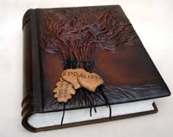 photo album personalized leather photo album tree of wedding photo album