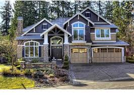 craftsman style home turn the garage to the side best 70 craftsman home exterior decorating design of inviting