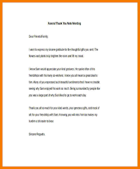 funeral thank you notes 6 thank you notes sle mbta online
