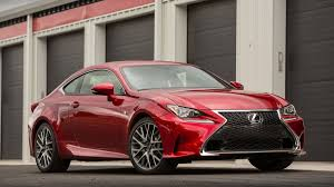 used lexus coupe 2016 lexus rc 350 review stiff competition autoweek