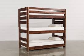 Sedona Twin Triple Bunk Living Spaces - Living spaces bunk beds