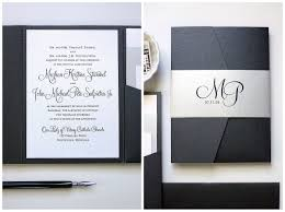 silver wedding invitations black and silver wedding invitations gourmet invitations