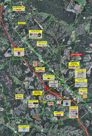 Map Of Arundel Mills Mall Crondall Corner Shopping Center H U0026r Retail