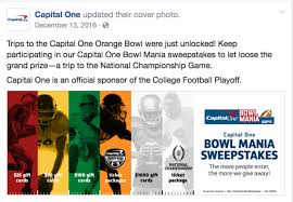 capital one gift card melody lowe capital one orange bowl
