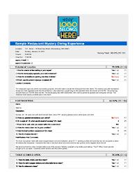 restaurant survey template eliolera com