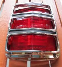 sn95 mustang tail lights 1964 1965 1966 mustang tail light lens and bezel nice ebay