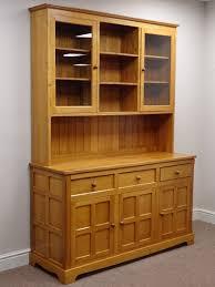 Oak Glazed Display Cabinet Unicornman U0027 Oak Kitchen Dresser Three Drawers And Three Cupboards