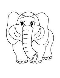baby elephant with mother coloring page super coloring zodius