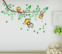 monkey wall stickers images monkey wall stickers for kids