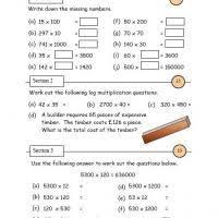 multiplication 6 to 10 math worksheet
