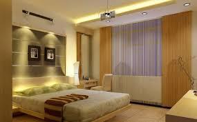 modern bedroom lighting design of warm minimalist bedroom