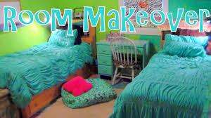 twin girls bedroom makeover on a budget before u0026 after youtube