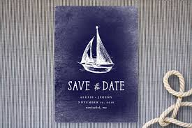 nautical save the date nautical destination save the date cards in navy by